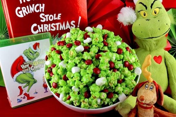 Grinch Popcorn Recipe