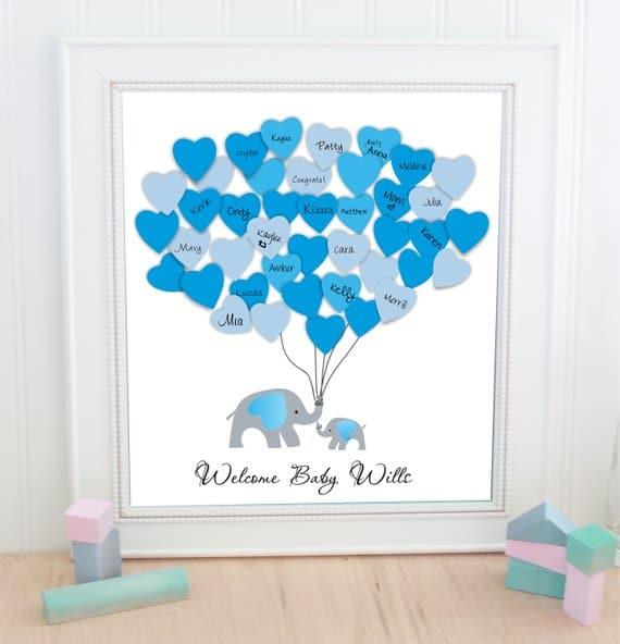 Elephant Baby Shower Theme For Boys