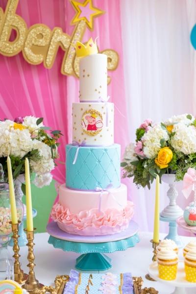 Awe Inspiring Colorful Peppa Pig Birthday Pretty My Party Party Ideas Funny Birthday Cards Online Hendilapandamsfinfo
