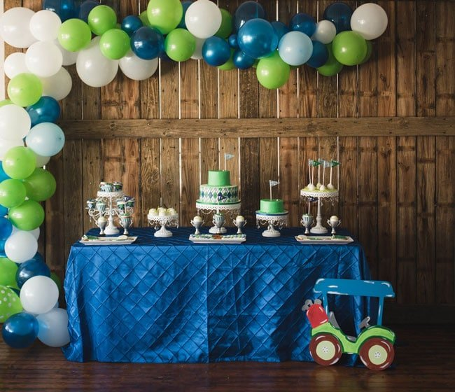 1st Birthday Party Ideas For Boys - Golf Party