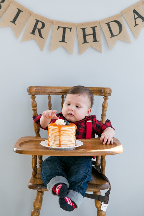 1st Birthday Party Ideas For Boys - Lumberjack Party