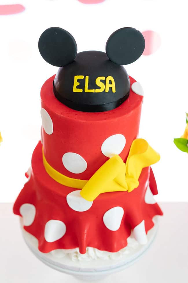 Minnie Mouse Cake - Awesome Birthday Cakes For Girls on Pretty My Party