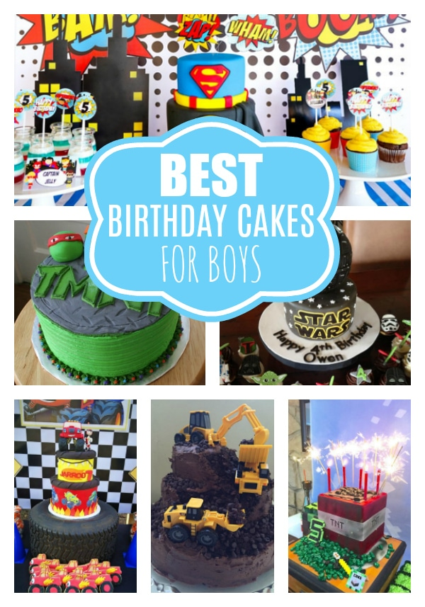 29 Awesome Birthday Cakes For Boys on Pretty My Party