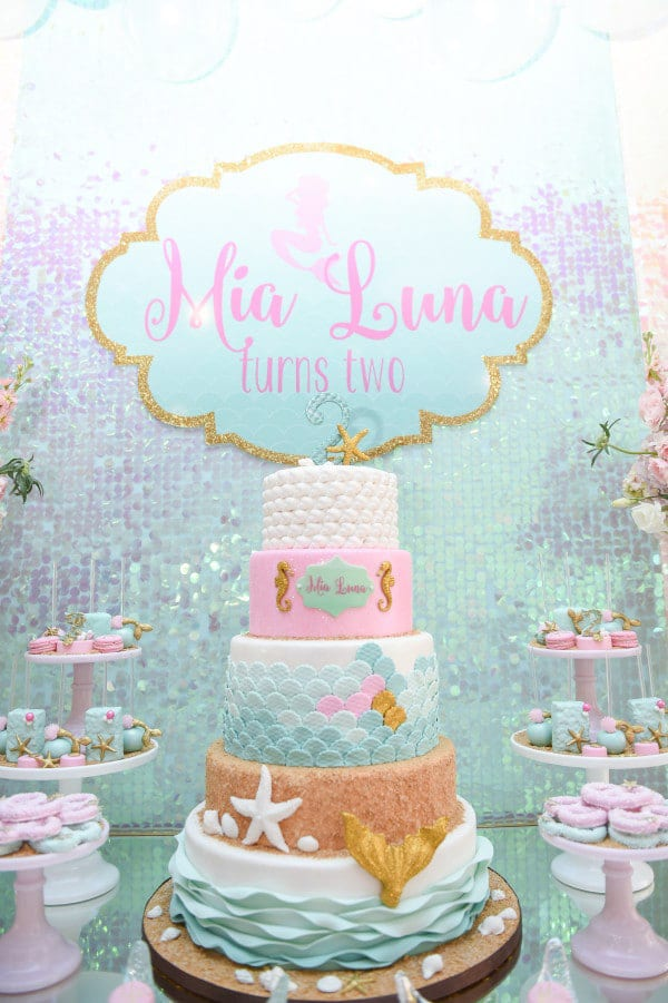Mermaid Birthday Cake - Awesome Birthday Cakes For Girls on Pretty My Party