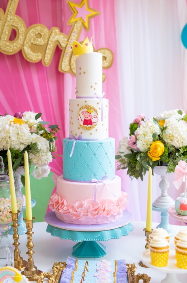 Peppa Pig Cake - Awesome Birthday Cakes For Girls on Pretty My Party