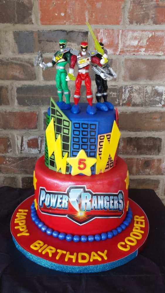 Power Rangers Birthday Cake - Awesome Birthday Cakes For Boys on Pretty My Party
