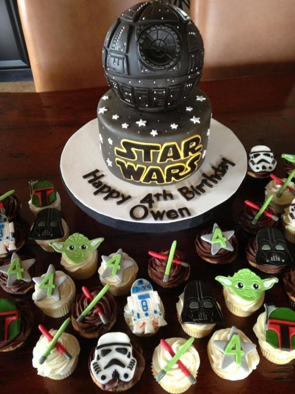 Star Wars Birthday Cake - Awesome Birthday Cakes For Boys on Pretty My Party