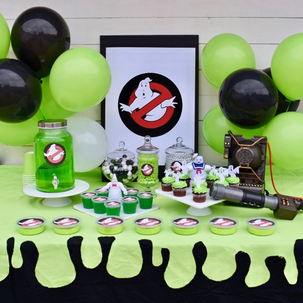 Ghostbusters Party Table - Ghostbusters Birthday Party Ideas