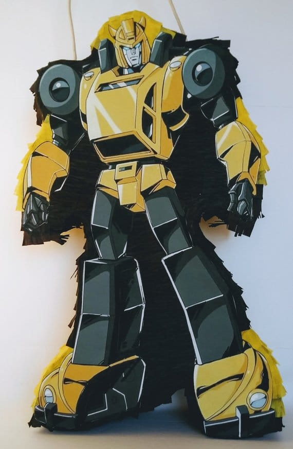 Bumblebee Pinata - Transformers Party Ideas