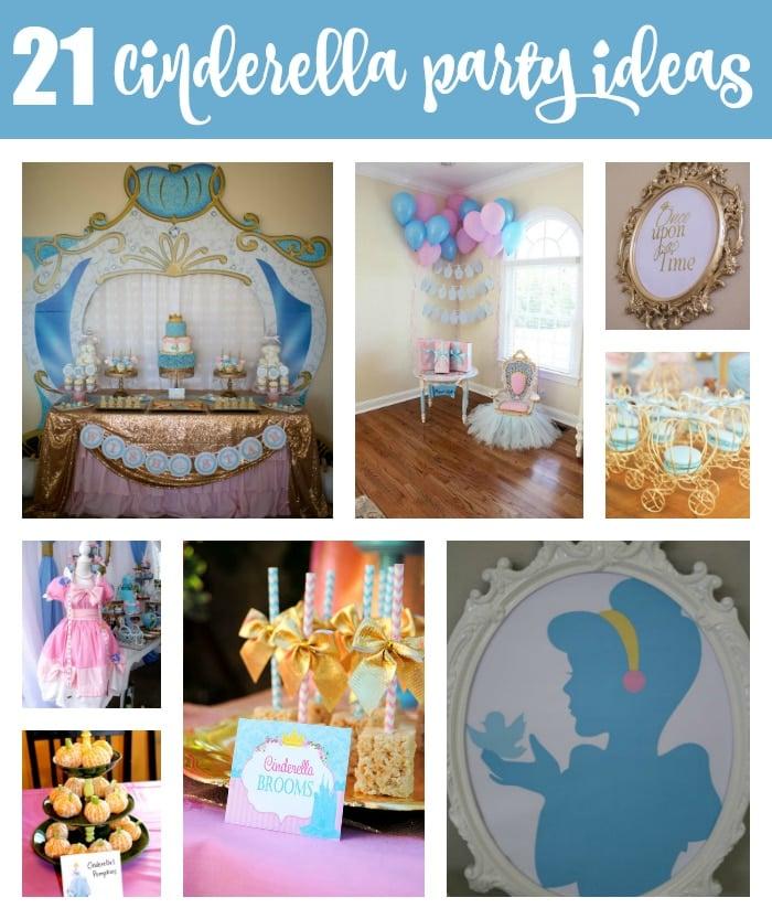21 Magical Cinderella Birthday Party Ideas on Pretty My Party