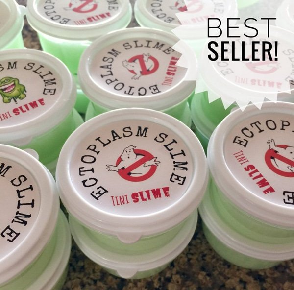 Ghostbusters Slime Party Favors