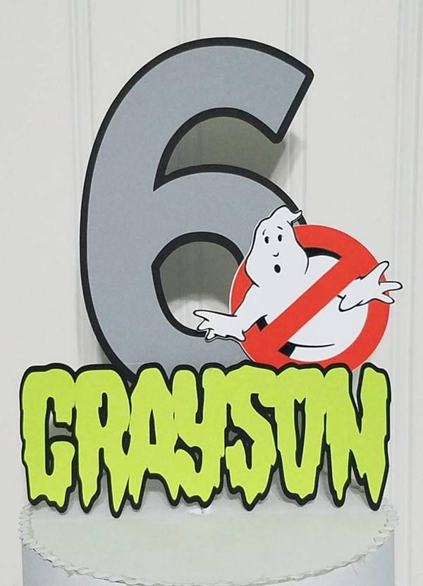 Ghostbusters Cake Topper - Ghostbusters Party Ideas