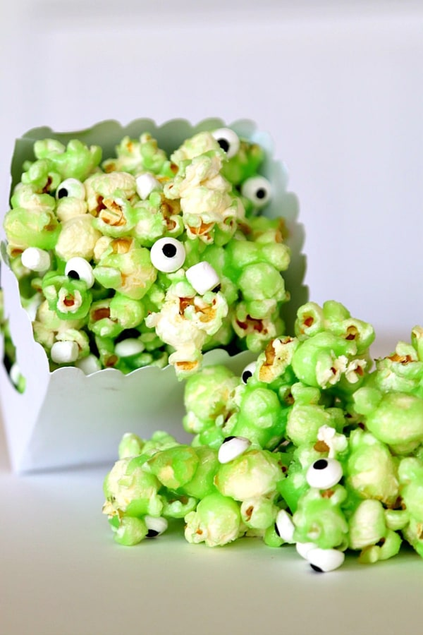 Monster Slime Popcorn - Ghostbusters Party Ideas