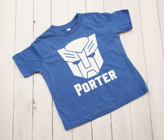 Rescue Bots Transformers Shirt - Transformers Party Ideas