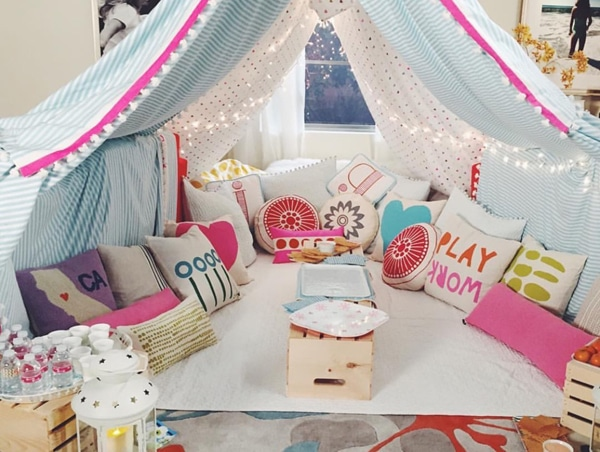 Slumber Party Tent Decorations