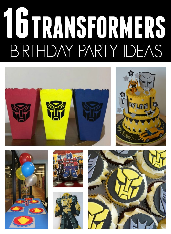 16 Cool Transformers Birthday Party Ideas on Pretty My Party