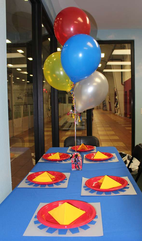 Transformers Party Table Decorations