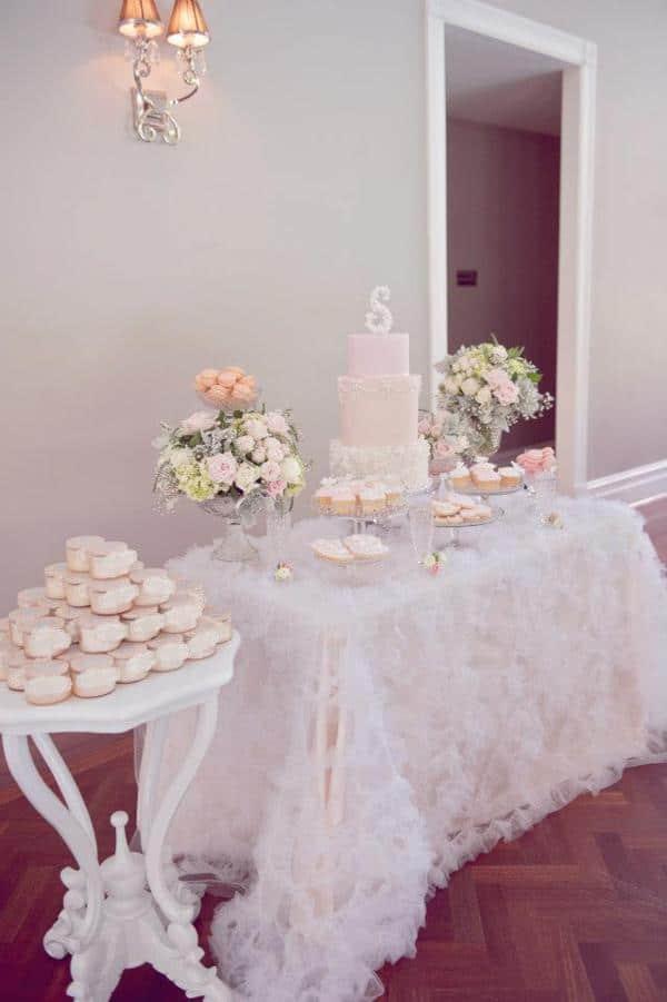Vintage Pink Baptism Party