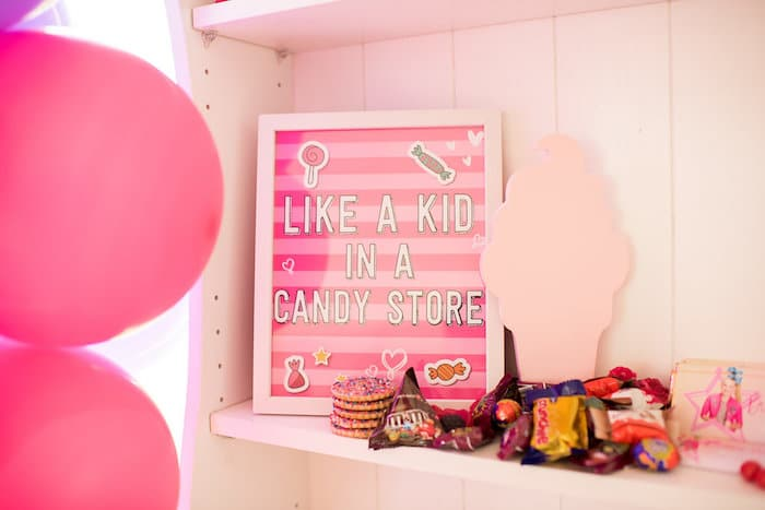 JoJo Siwa Birthday Party Candy Store Sign