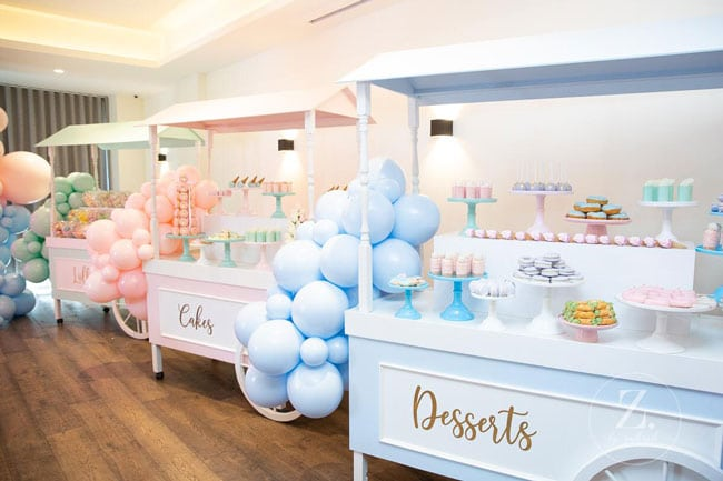Pretty Pastel Ice Cream Birthday Party Dessert Table Ideas on Pretty My Party