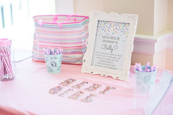 Baby Sprinkle Game Idea