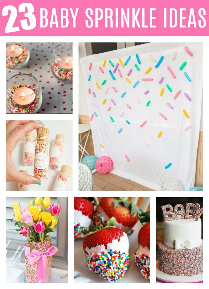 23 Best Baby Sprinkle Ideas on Pretty My Party