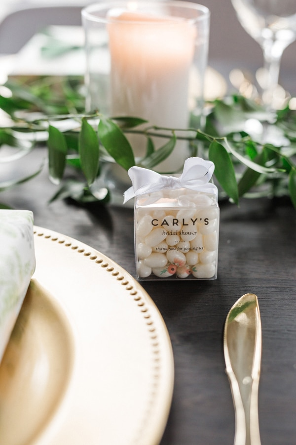 Flower Themed Bridal Shower Favors