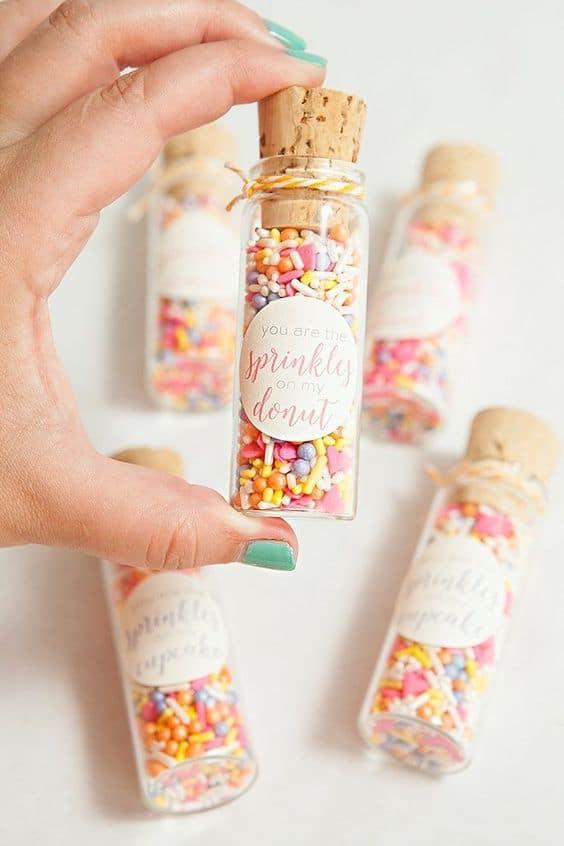 DIY Sprinkles Party Favors - Best Baby Sprinkle Ideas