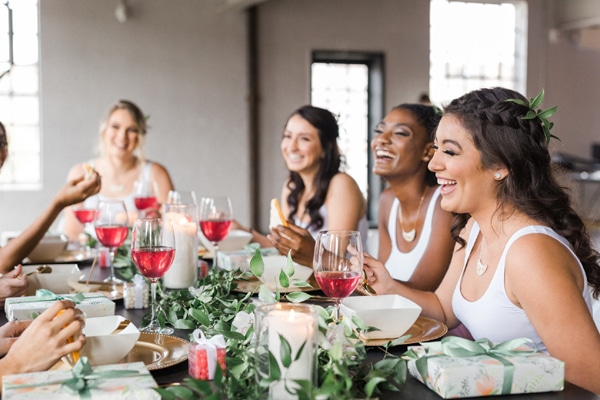 Flower Themed Bridal Shower/Bridesmaids Brunch