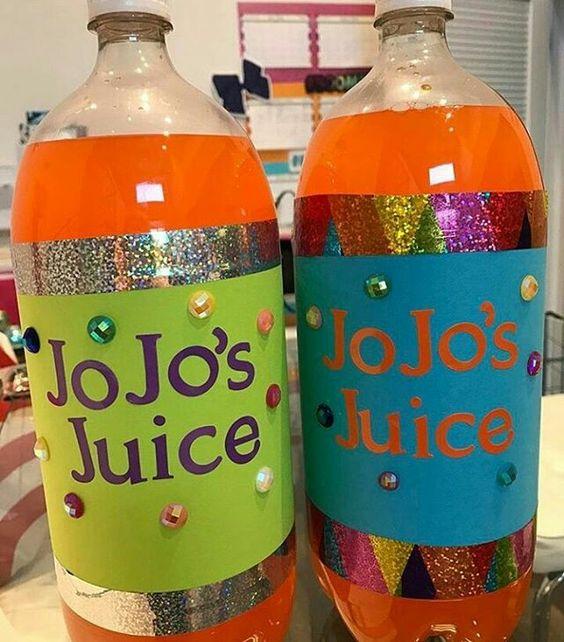 Jo Jo Juice - Jo Jo Siwa Birthday Party Ideas