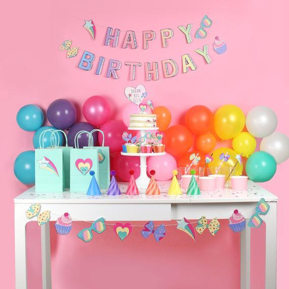 Jo Jo Siwa Inspired Birthday Party Decorations
