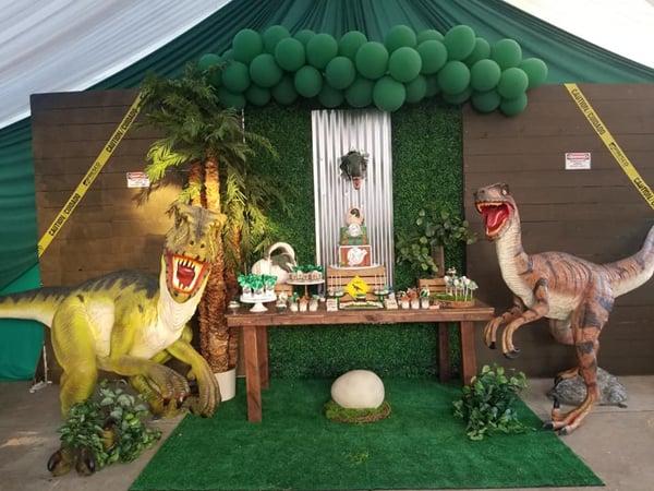 Jurassic World Dessert Table