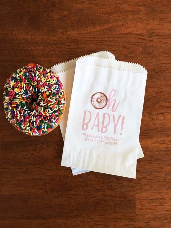 Oh Baby Favor Bags - Best Baby Sprinkle Ideas