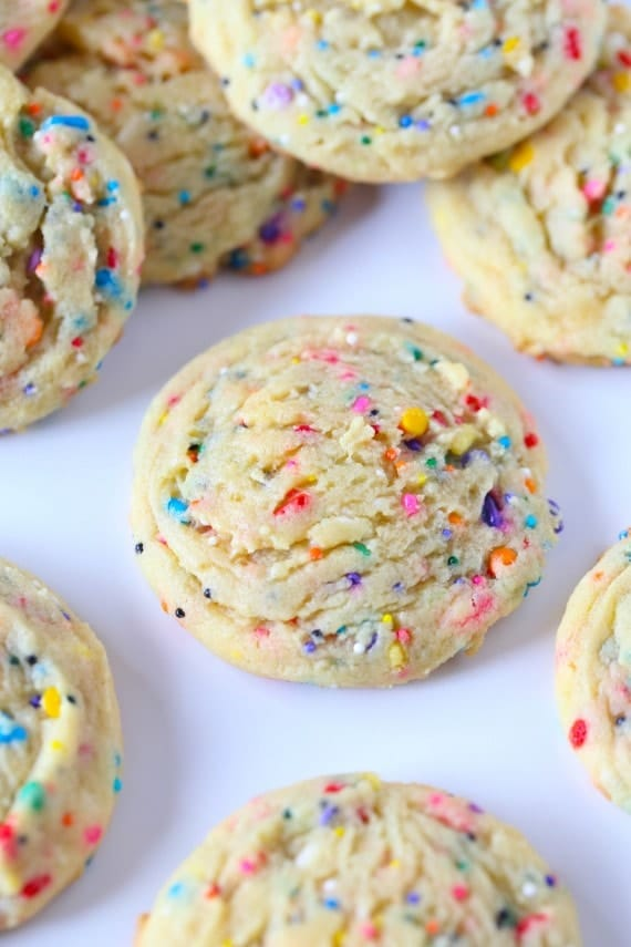 Sprinkle Pudding Cookies - Best Baby Sprinkle Ideas