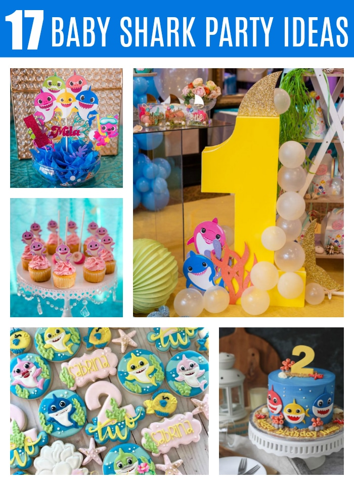 17 Cute Baby Shark Party Ideas on Pretty My Party