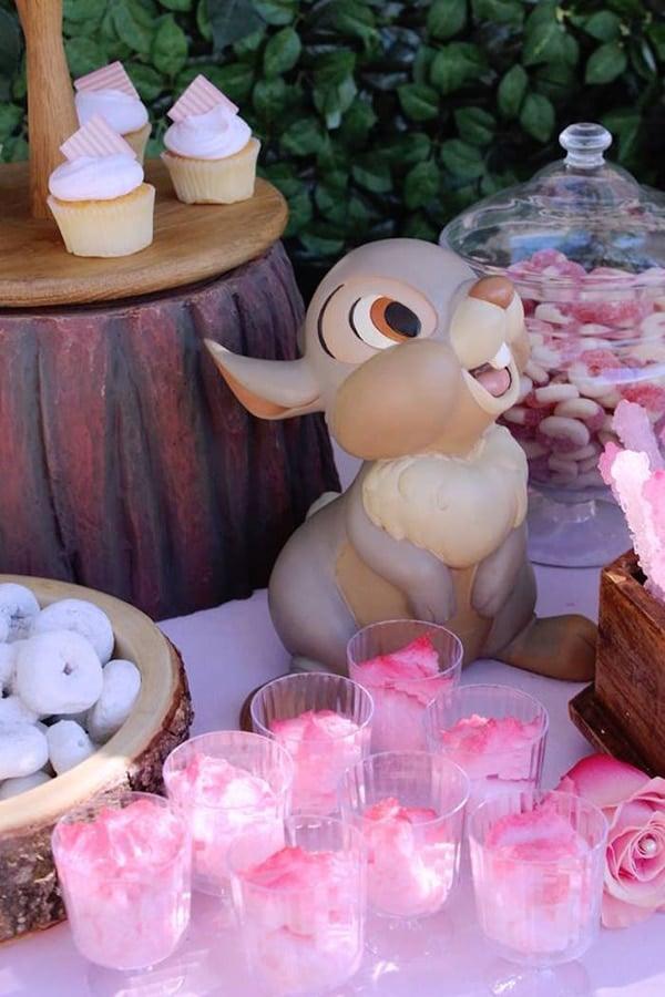 Bambi Birthday Party Desserts