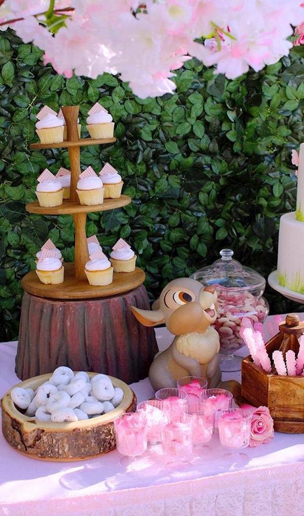 Bambi Party Food and Desserts - Bambi Party Ideas