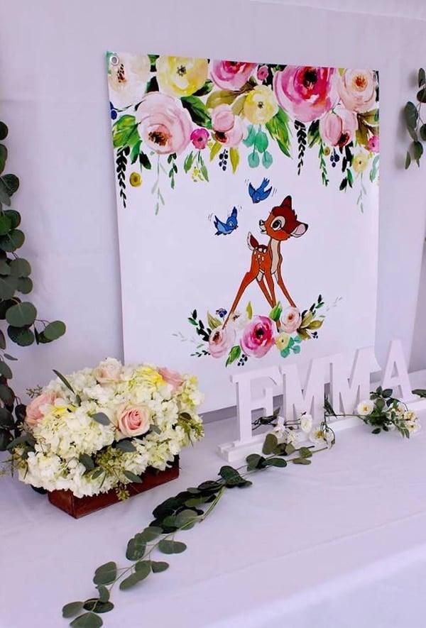 Bambi Party Sign - Bambi Party Ideas