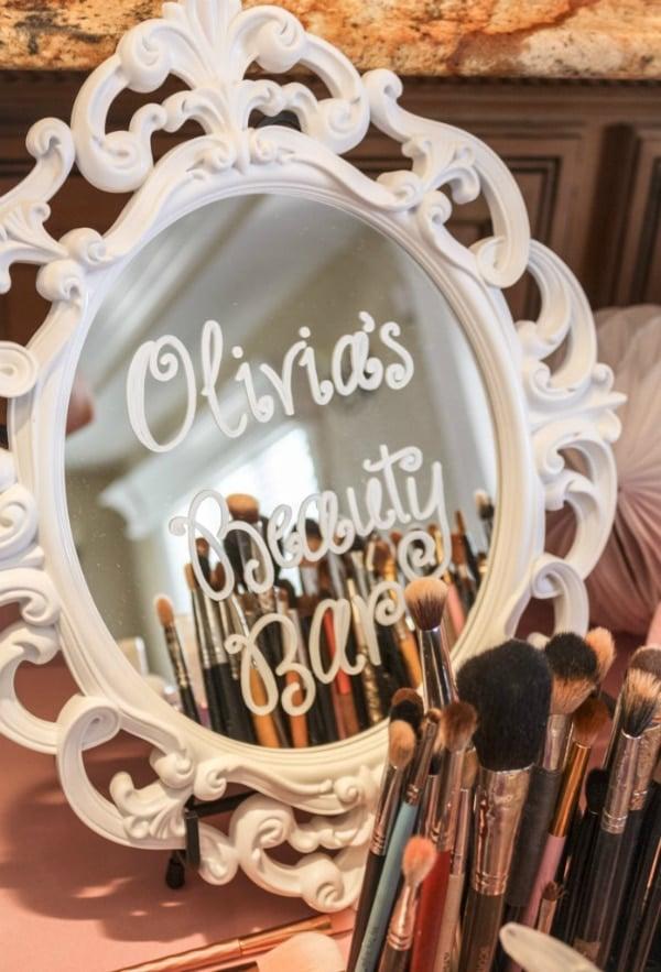 Beauty Party Beauty Bar Sign