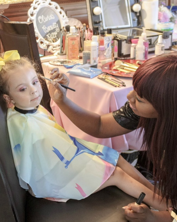 Beauty Bar for Makeup Party