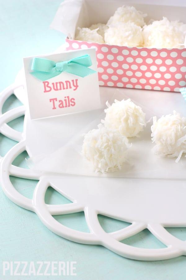 Bunny Tail Treats - Peter Rabbit Party Ideas