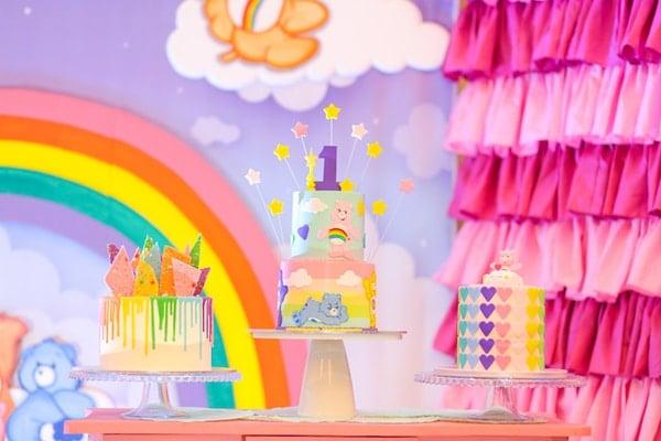 Care Bears Birthday Cakes - Care Bears Party Ideas