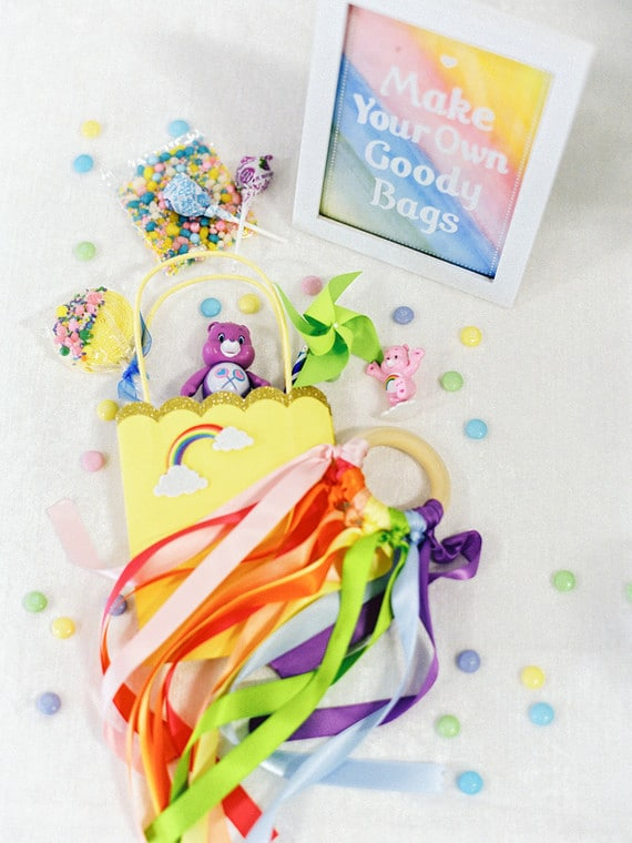 Care Bears Party Make Your Own Goody Bags