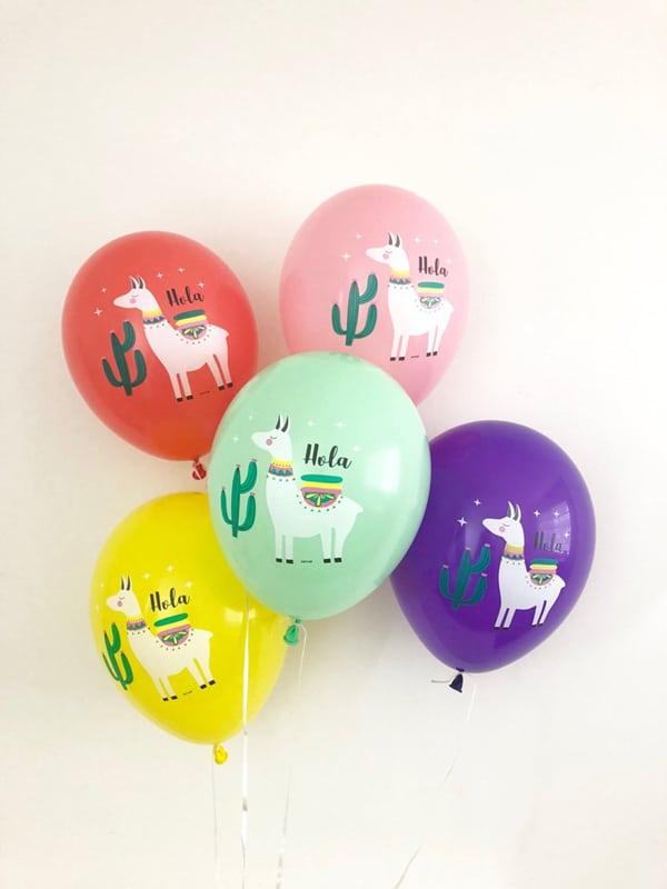Llama Party Balloons - Llama Party Ideas