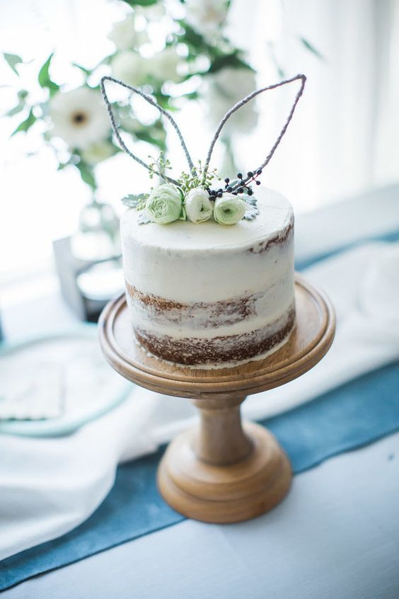 Simple Peter Rabbit Cake - Peter Rabbit Party Ideas