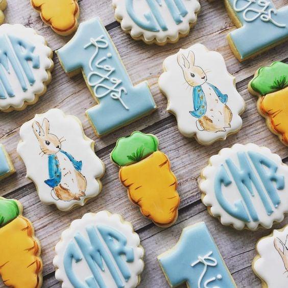 Peter Rabbit Cookies - Peter Rabbit Party Ideas