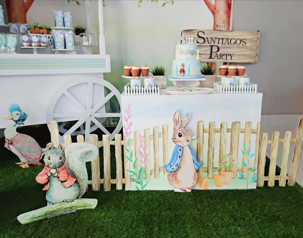 Peter Rabbit Birthday Party Decorations on Pretty My Party