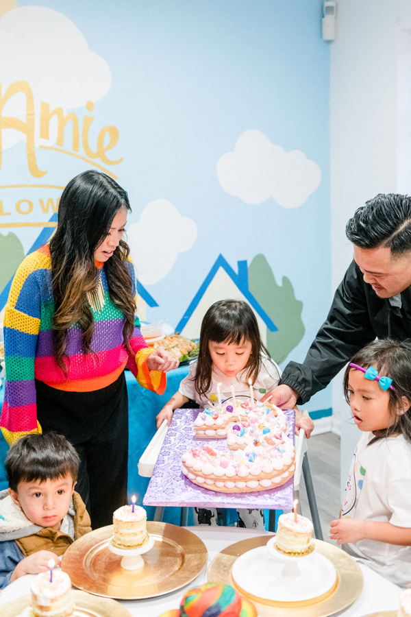Rainbow Color Factory Birthday Party on Pretty My Party