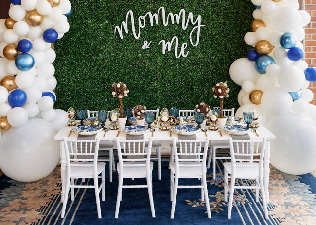 Mother's Day Party Tablescape Idea