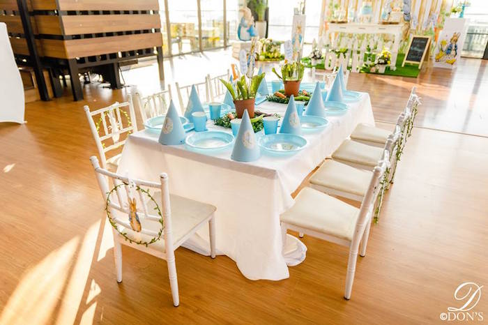 Peter Rabbit Party Table